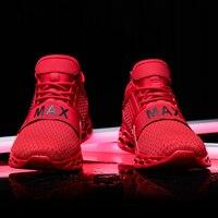 Мужские кроссовки для бега, ходьбы, спортивная обувь, на шнуровке, дышащие, для улицы, 2021