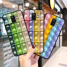 2021 Bubble Fidget Reliver Stress Antistress for Samsung Galaxy A3 A5 A6 A7 A8 A10 A30 A40 A50 A22 A32 A72 A82 J5 J6 J7 J8 Plus