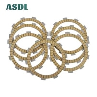 motorcycle engine parts clutch friction plates kit for yamaha yz 80 1995 2001 yz 85 2002 2007 dt 125 tdr 125 yfs 200 blaster d