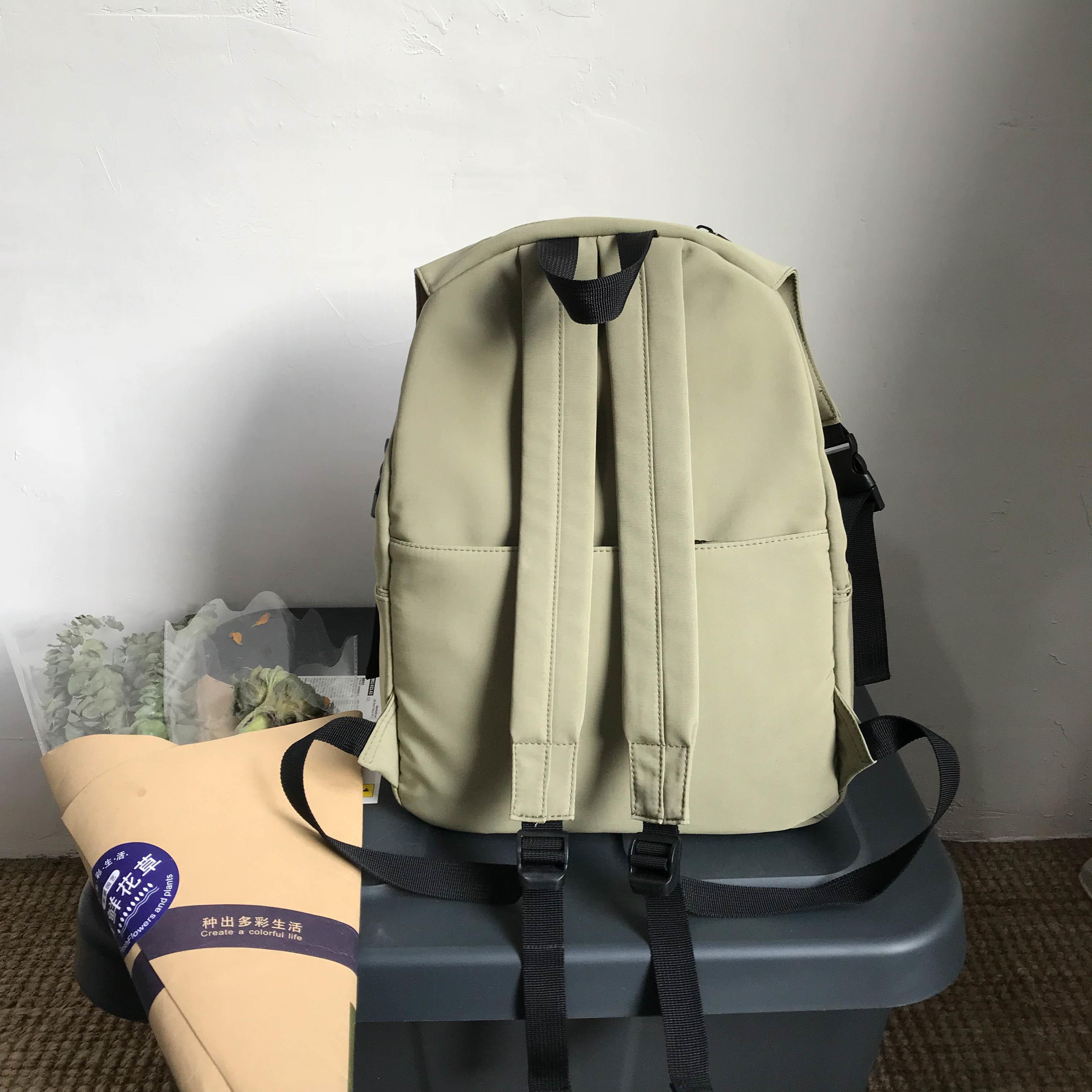 Vízálló nylon hátizsák női táska divat hátizsák nőknek nagy - Hátizsákok - Fénykép 5