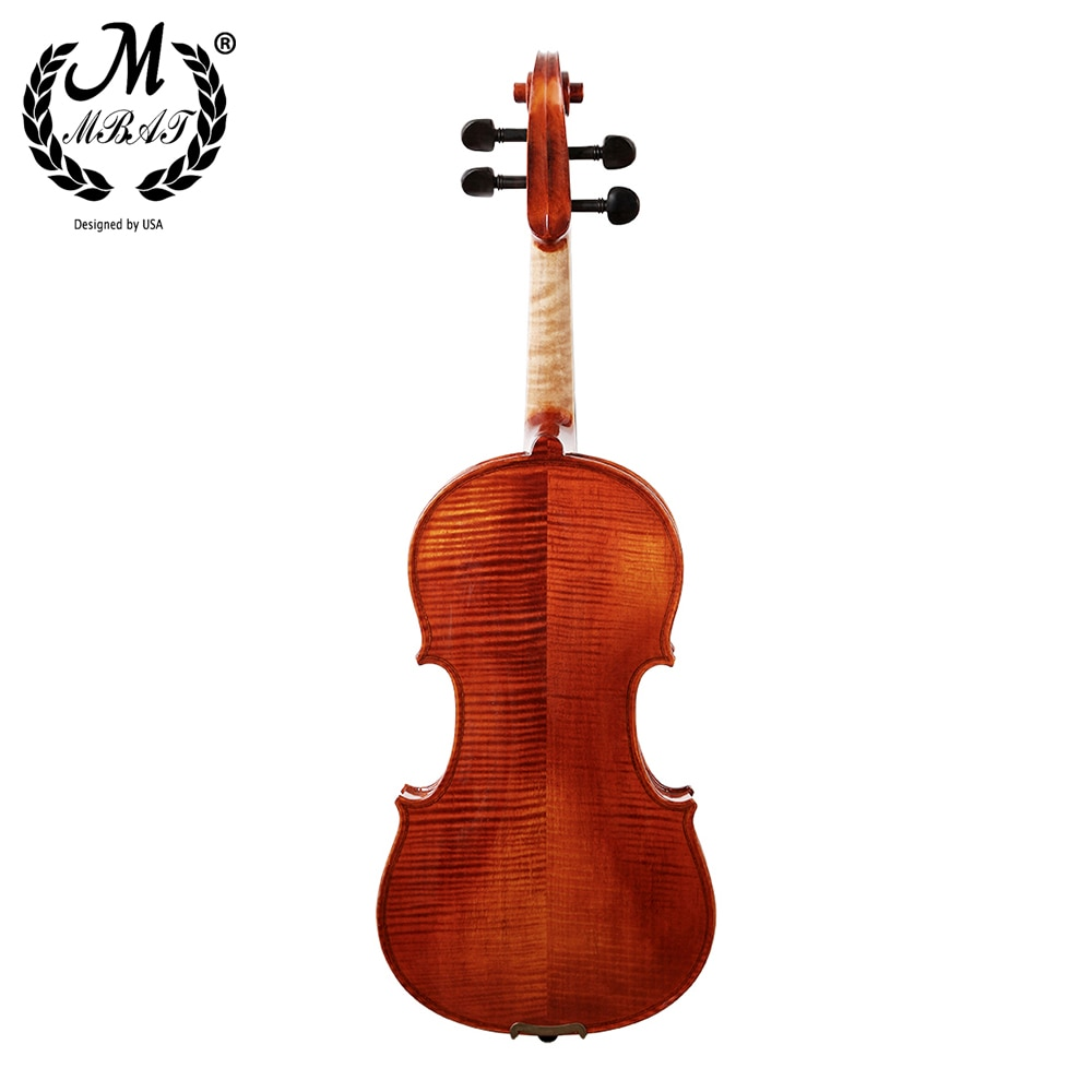 M MBAT Handmade Violin 4/4 Acoustic Wooden Fiddle High quality Stringed Instrument With Square Case Music Accessories Set enlarge