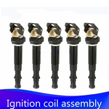 5x Ignition coil coils pack for BMW E60 E61 E63 E64 S85 M5 M6 5.0L V10 6 series 12137835108 12137841556 2006 2007 2008 2009 2010