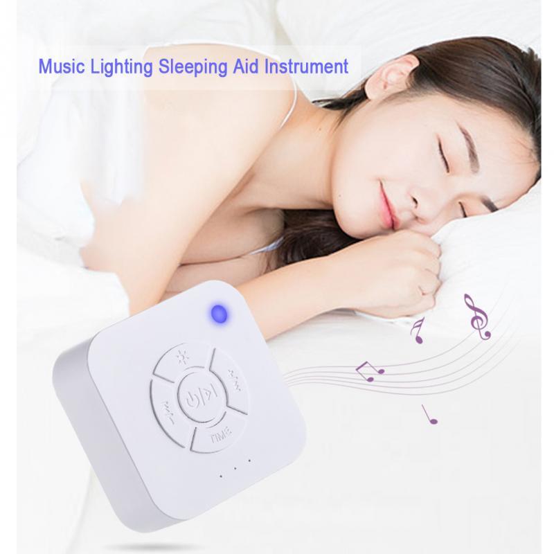 USB Перезаряжаемый таймер выключения сна звуковая машина белый шум машина для сна и релаксации для ребенка взрослого офиса путешествия