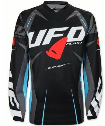 Jersey de carreras para hombre, OVNI MX, MTB Off Road, camiseta para bicicleta de montaña DH, camiseta para moto BMX colorida, camiseta de motocross