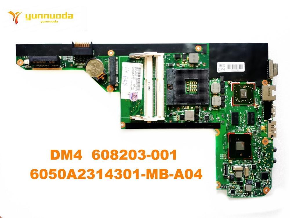 Original para HP DM4 laptop placa base DM4 608203-001 6050A2314301-MB-A04 probado buen envío gratis