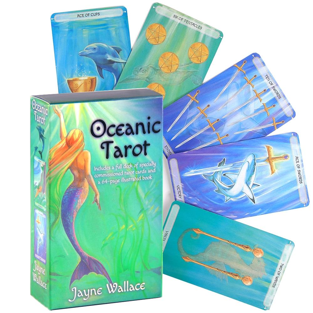 Морские карты Таро для начинающих, разделительные карты Таро, карты Оракл