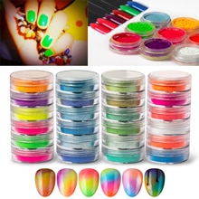 Poudre fluorescente de scintillement dongle de poudre de Pigment de phosphore au néon de 6 couleurs