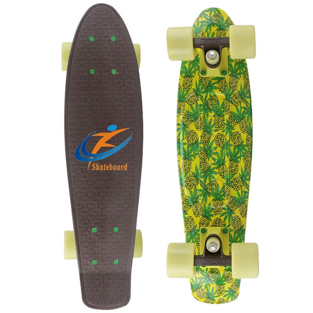 Доска для скейтборда, полная модель, Лонгборд, скейтборд, одиночный качающийся Пенни-борд