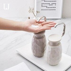 Диспенсер для мыла, 400 мл, гигиеническая бутылка для мыла для одной руки высокого качества для ванной комнаты, для рук, тела, бутылка для лось...