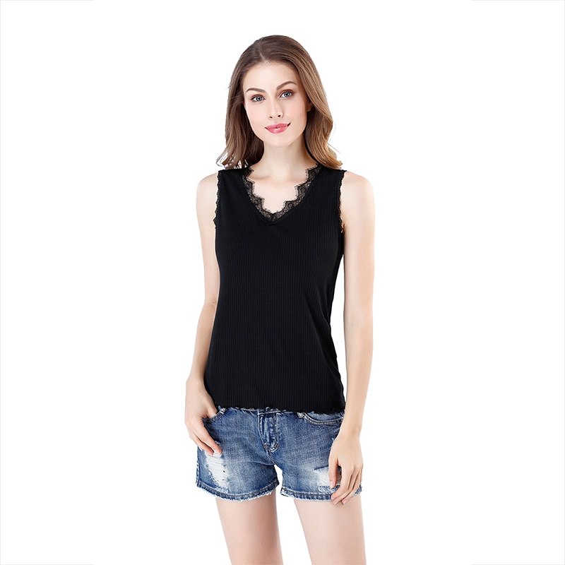 Hot sale women's tops new vest tops 2020 bottoming tops cotton fashion sleeveless tops