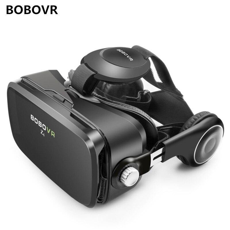 BOBOVR Z4 gafas de realidad virtual 3D, auriculares VR 3D, juego de gafas VR VR4.0-6,0 pulgadas para Xiaomi iPhone 8 11 max 5G
