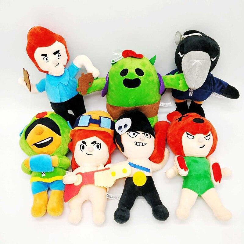 Веселые игры, мультяшная звезда, фигурка героя, аниме, модель Спайк Шелли Леон Примо мортис, кукла каваи, милая игрушка, подарок для мальчика, девочки, дети