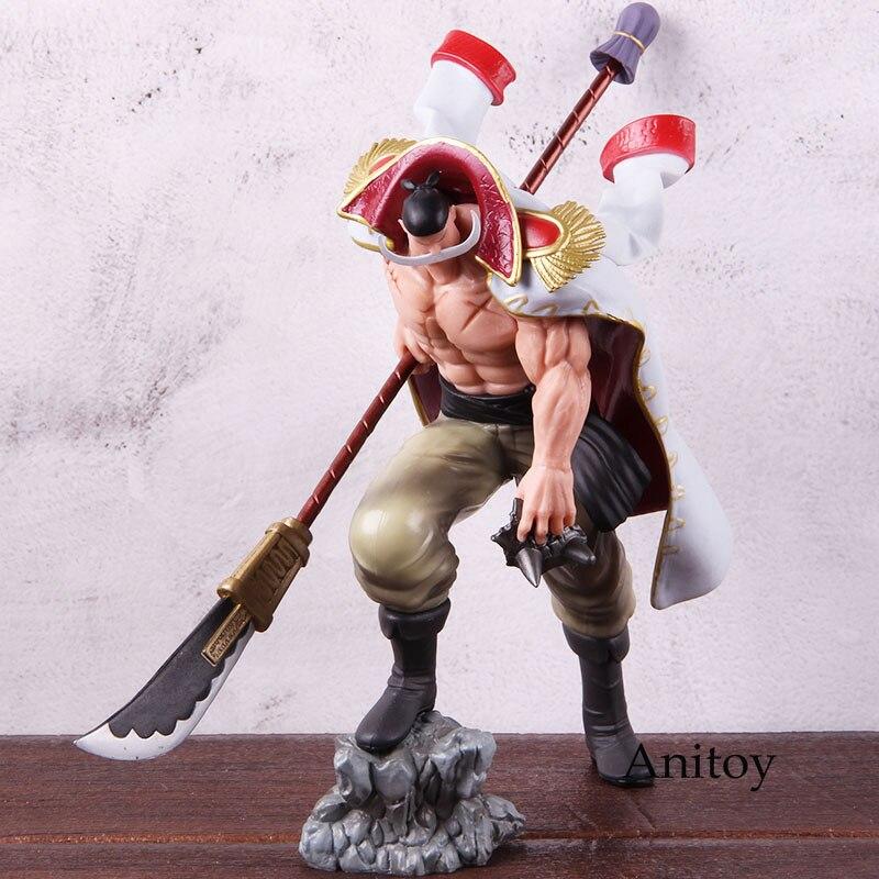 FIGURA DE ACCIÓN DE One Piece, de barba blanca, Edward Newgate, barba blanca, Edward, figura de acción de One Piece de PVC, juguete de modelos coleccionables