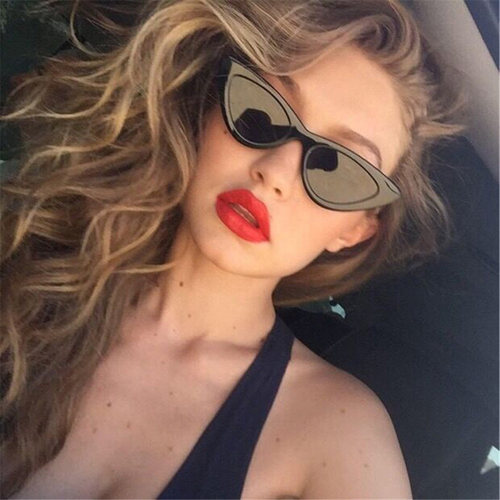 Fashion Cat Eye Sunglasses Women Brand Designer Vintage Retro Sun glasses Female Fashion Cateyes eyeglasses UV400 Shades