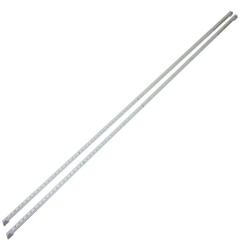 New 2 PCS/lot 80LED 676mm LED strip for LJ64-03515A STS550A66_80LED_rev0.1_111117 LED55X5000DE LTA550HQ22 550HQ20 HQ16
