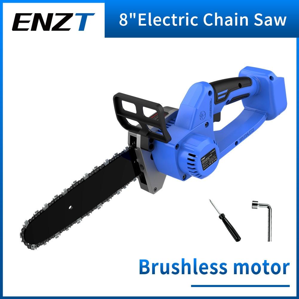 ENZT منشار كهربائي بالمنشار فرش صغير 8 بوصة الخشب القواطع قوس المحرك ل ماكيتا بطارية سلسلة أداة السلطة