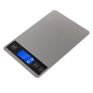 Digital Kitchen Scales 22lb/10kg Charging Touch Button Waterproof Cooking Scale 203C
