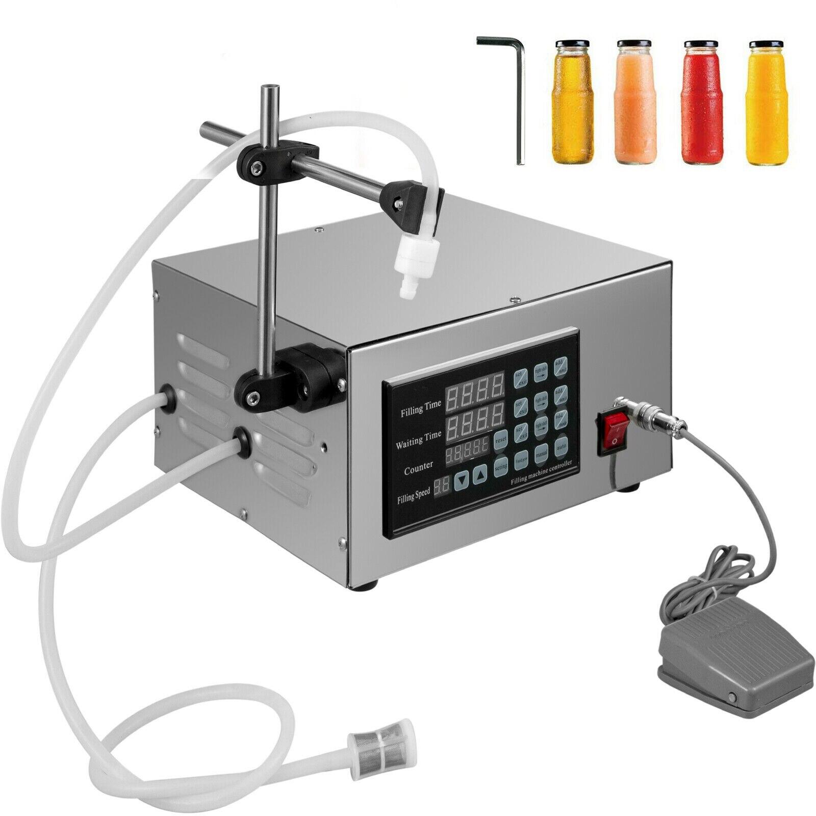 5-3500 مللي التلقائي ملء آلة XK-280 السائل ملء آلة زجاجة حشو التحكم الرقمية ل كريم الشامبو السائل المياه