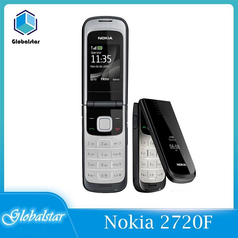 Перейти на Алиэкспресс и купить Nokia 2720 Восстановленный Nokia 2720F оригинальный Nokia 2720 складной разблокированный сотовый телефон Бесплатная доставка мобильных телефонов