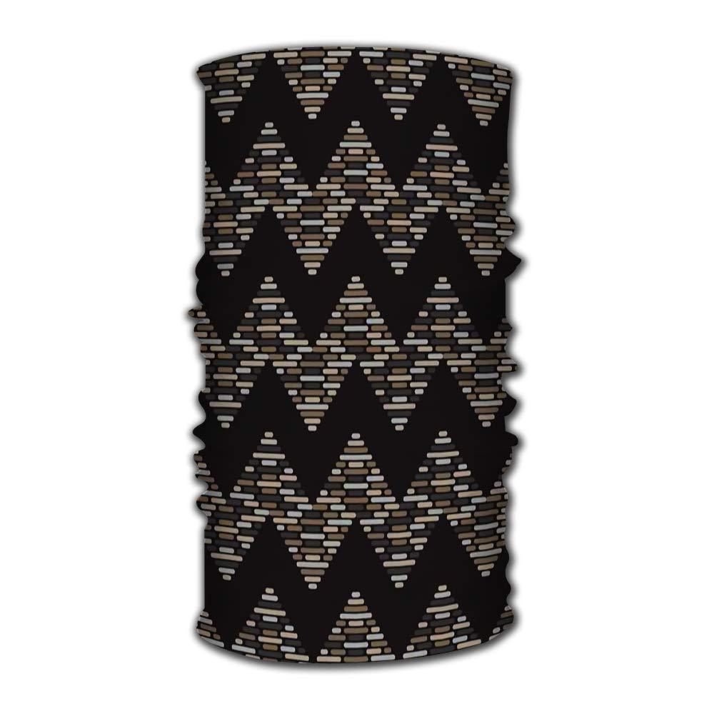 Diadema deportiva YILINGER, patrones geométricos de rayas, diadema mágica