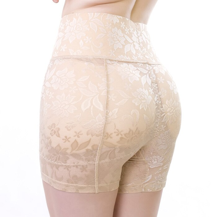 Cintura alta Falso Ass Sexy Butt Lift Up Hip Bundas Enhancer Shaper Calcinhas Empurrar Para Cima Inserções Underwear Seamless Removíveis Pads l-4XL