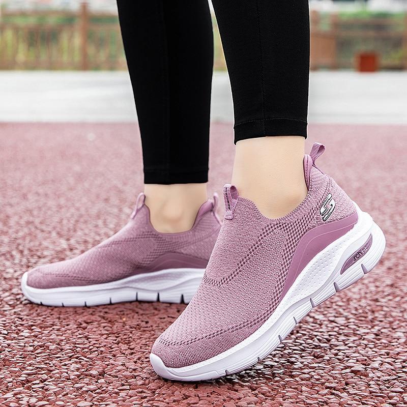 Новинка 2021, женские кроссовки для бега, мягкая удобная спортивная обувь для тренажерного зала, Женская устойчивая спортивная обувь для фитн...