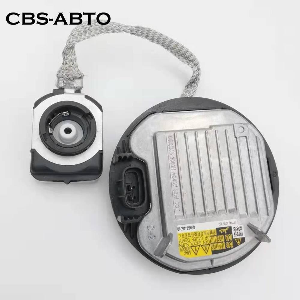 CBS-ABTO DDLT004 para Denso balasto xenón D4S faro Igniter Módulo de Control 85967-45010 8110760F10 KDLS001 para Toyota Lexus