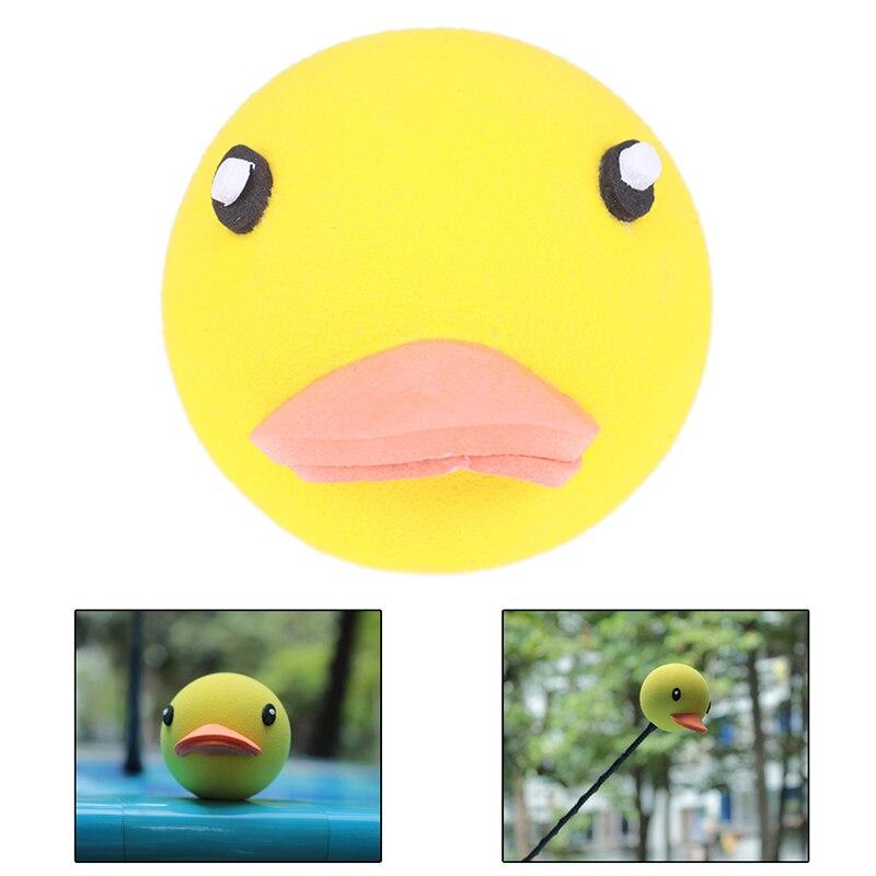 Fashion Topper Car Antenna Balls Yellow Duck EVA Decor Gift Toys Auto Exterior Accessories Cool Toys Auto Exterior Cool Aerial