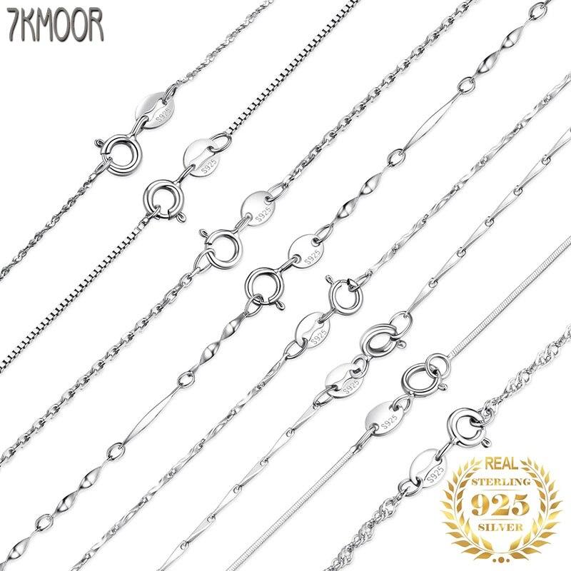 Женское-и-мужское-ожерелье-из-серебра-100-пробы-колье-из-серебра-925-пробы-с-плетением-из-слиток-скрученный-с-сингапурской-цепью-и-шкатулкой