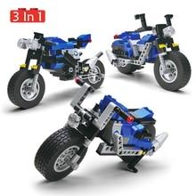 240pcs Model Motorcycle Building Blocks Bricks Fit Autocycle Orv Vehicles Assembling Plastic Motor Toys Gifts For Children Kid