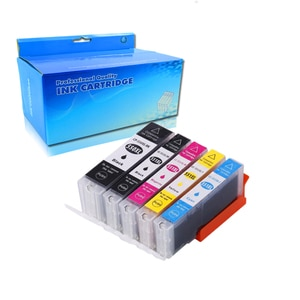 5colors ink cartridge Compatible CANON PGI550 CLI551 PGI-550 CLI-551 for Canon PIXMA IP7250 MG5450 MG6350 MX925 MG5550 MG6650