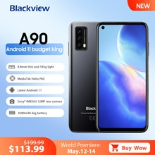 Blackview A90 Smartphone Helio P60 Octa Core 13MP HDR Camera Mobile Phone 4GB+64GB 4280mAh Android 1