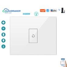 CLOUDRAKER EU WiFi chaudière chauffe-eau interrupteur Tuya vie intelligente App télécommande minuterie commande vocale Google Home Alexa Siri