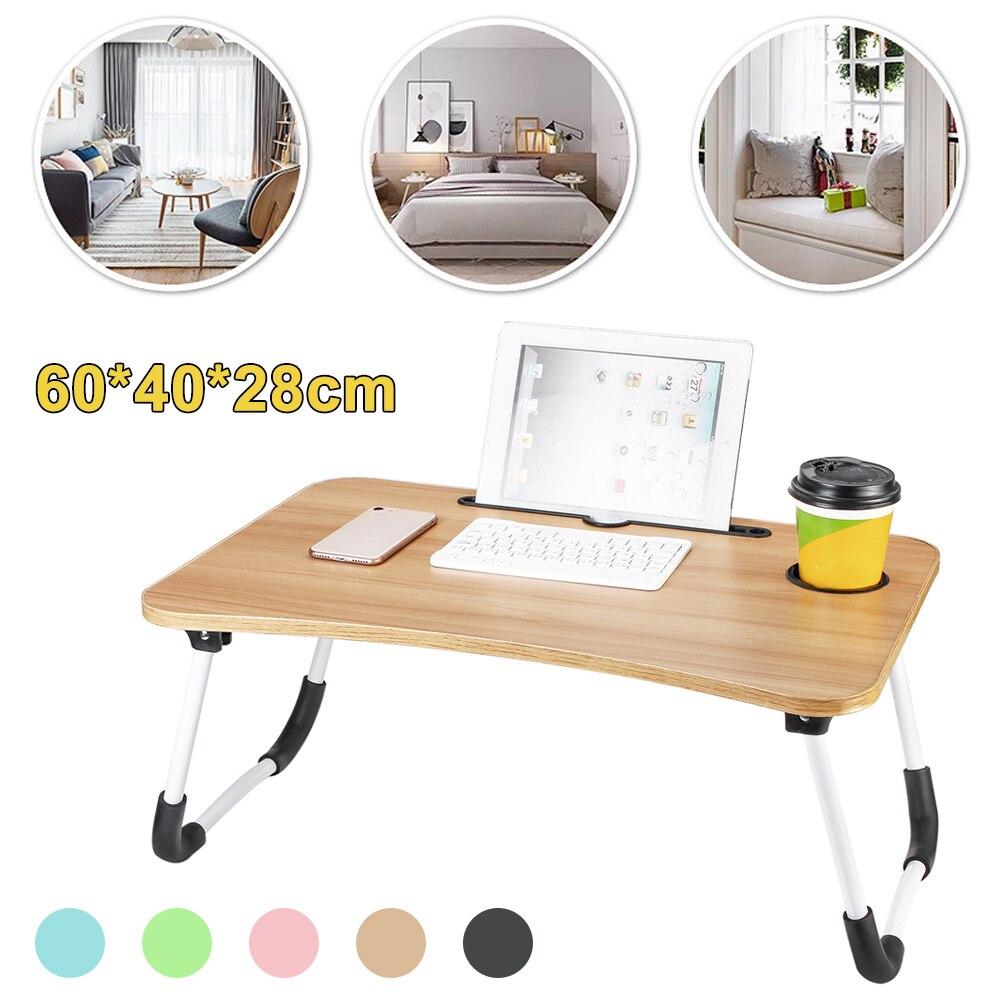 Cama de 60x40x28cm, mesa pequeña para ordenador portátil, mesa para ordenador, dormitorio...