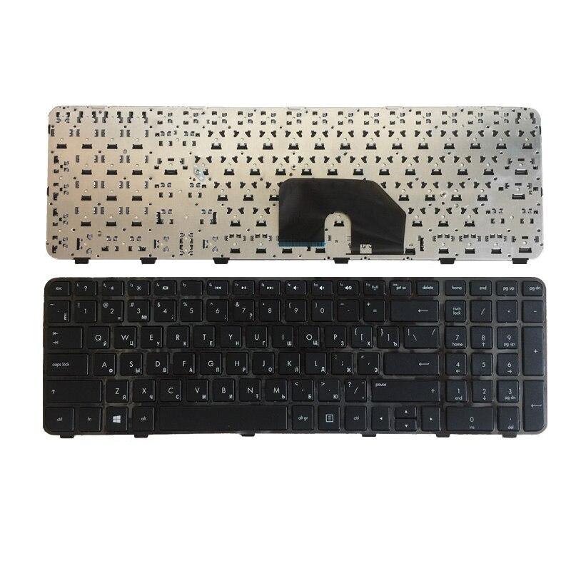 Русская клавиатура с рамкой для ноутбука HP DV6 DV6-6000 6101TX 6151TX Pavilion DV6-6200 DV6-6b00 RU, Черная