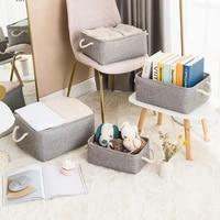 stationery organizer container multifunction desktop sundries underwear storage basket toy arrange cloth makeup case books box