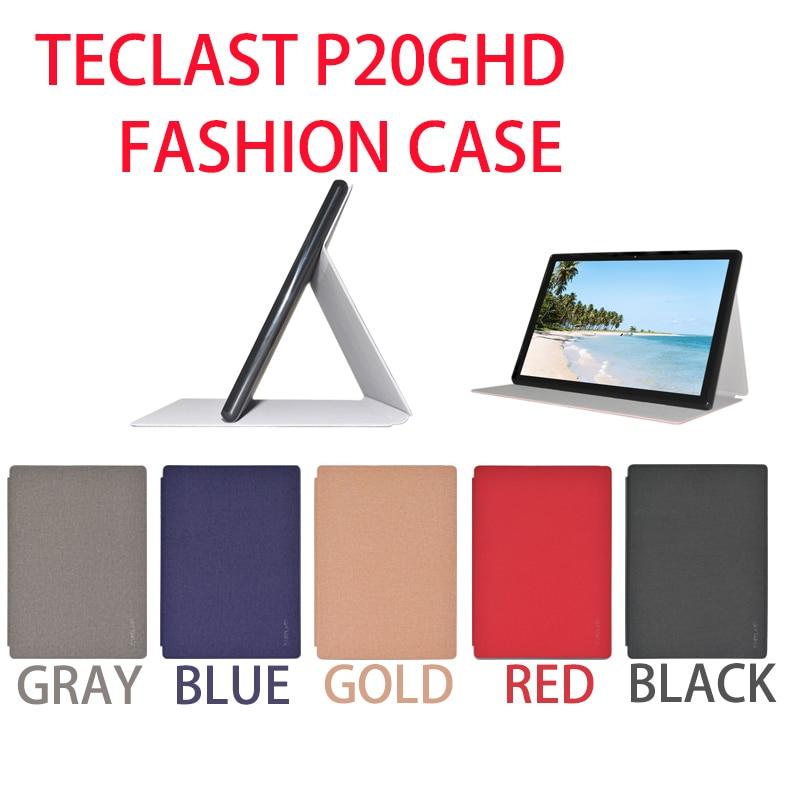 Teclast P20HD/P20/M40 Mode Fall Flip Stand PU Ledertasche Für 10.1