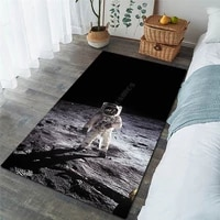 galaxy astronaut area rug 3d all over printed non slip mat dining room living room soft bedroom carpet 3