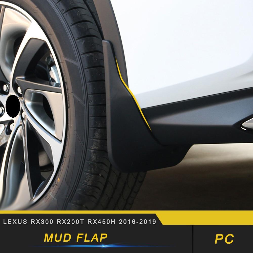 Para Lexus RX300 RX200t RX450h 2015-2019 guardabarros delantero trasero guardabarros partes exteriores