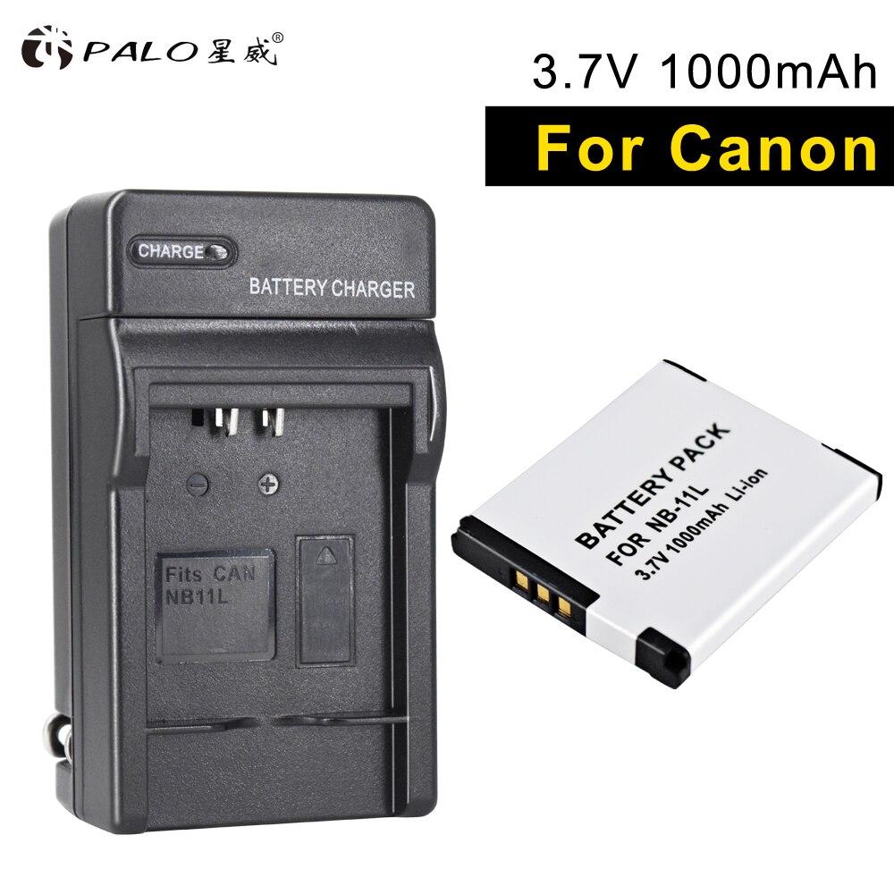 PALO NB-11L 1 шт. Аккумулятор для цифровой камеры + зарядное устройство для Canon SX430 IXUS 265 185 180 175 132 140 135 IXUS 240 245HZ A2300 2400 2500