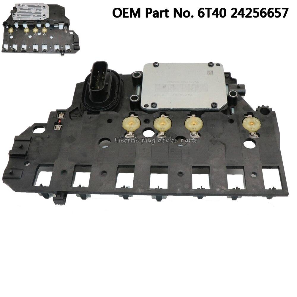 Genuine 6t40 6t45e módulo de controle transmissão tcm placa painel para chevrolet malibu cruz buick daewoo tosca 24256657