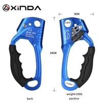 xinda device mountaineer handle ascender climbing rope tools outdoor sports rock climbing srt right hand ascender