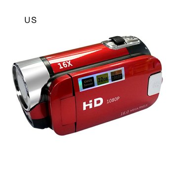 Цифровая камера, ручная съемка, цифровая камера, видеокамера, 16 миллионов пикселей, DV HD (1280x720), электронная стабилизация изображения
