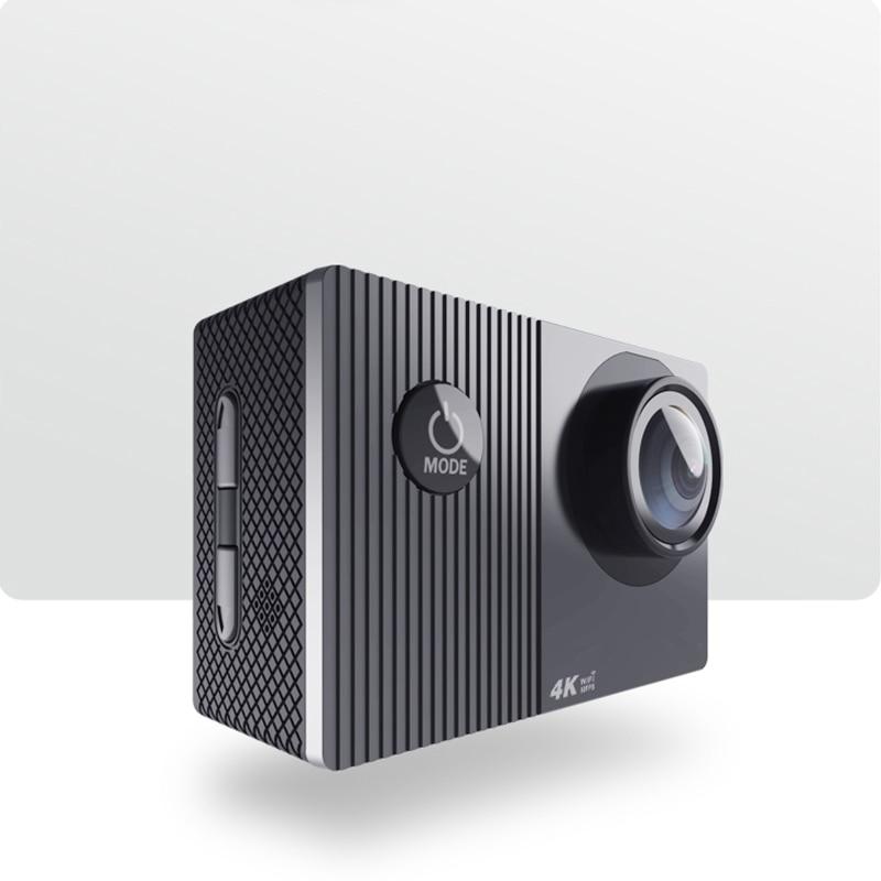 كاميرا أكشن 4K 60fps Wifi ، خوذة مقاومة للماء ، شاشة تعمل باللمس 2.0 بوصة ، جهاز تحكم عن بعد ، تسجيل فيديو