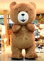 inflatable teddy bear mascot costume suits advertising cosplay party game dress