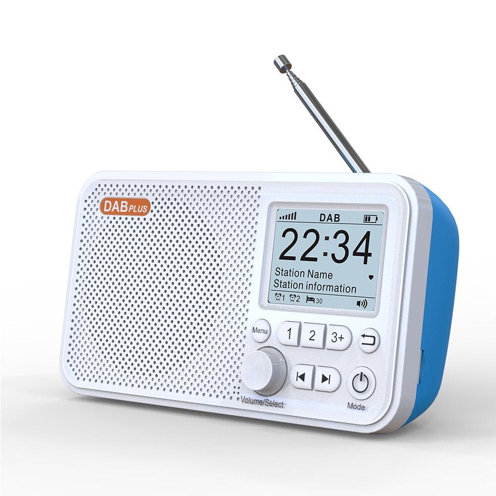 C10 2.4 بوصة لون شاشة رقمية LCD سطح المكتب ساعة تنبيه DAB DAB + راديو FM بلوتوث متوافق مشغل MP3 الأوروبي
