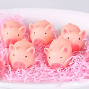 Kawaii розовая свинья животное сжимаемая игрушка детская Ванна игрушка звонок в спальню розыгрыши подарок детям