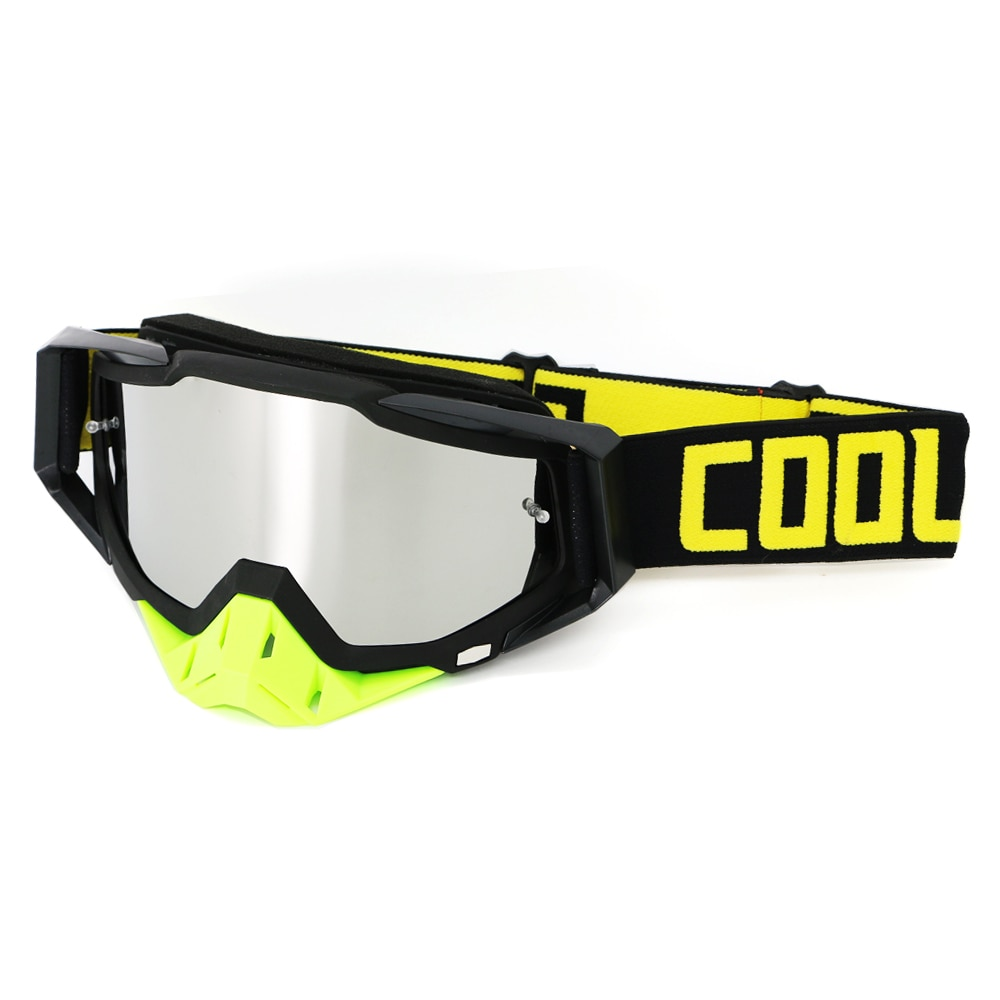 dustproof motocross glasses adjustable motorcycle goggles breathable full face protective dirt bike motorbike dirt bike off road Dirt Bike Goggles Downhill Motocross Glasses UV Protection Dustproof Motocross Goggles MX ATV Off Road Ski Motorcycle Gafas