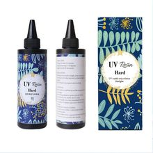 Hard UV Resin Glue Crystal Clear Ultraviolet Curing Epoxy Resin Jewelry Making
