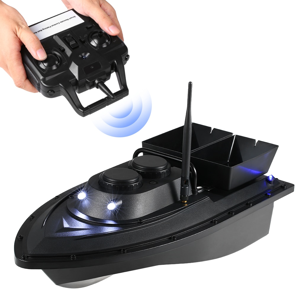 Smart Fishing Bait Boat RC D11 500M Remote Control Fishing Feeder Toy Fishing Boat Remote Range Fish Finder Ship Speedboat